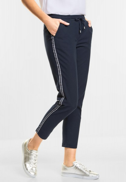 CECIL Modische Joggpants Tracey in Deep Blue