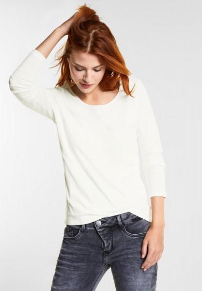 Street One - Softes Basic Shirt Lanea in Off White