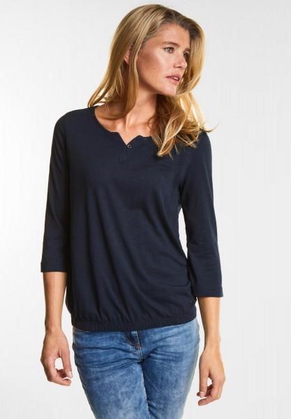 CECIL - Weiches Shirt Judith in Deep Blue