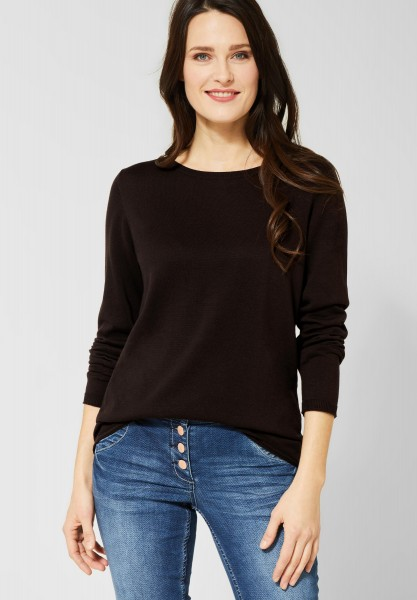 CECIL - Softer Pullover Alena in Coffee Bean Brown