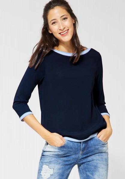 Street One - Lässiges Shirt Cia in Deep Blue