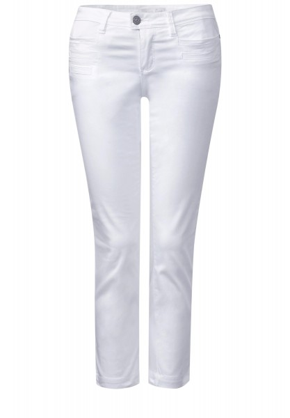 Street One - 7/8-Slim Fit Hose Yulius in White