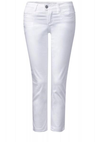 Street One - 7/8-Slim Fit Hose Yulius in White