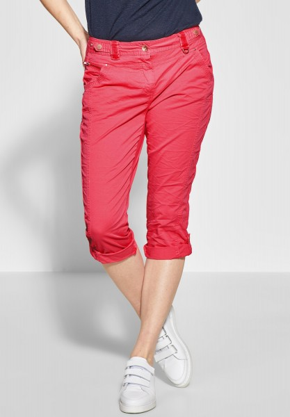 CECIL - Loose Fit Hose New York in Neo Coralline Red