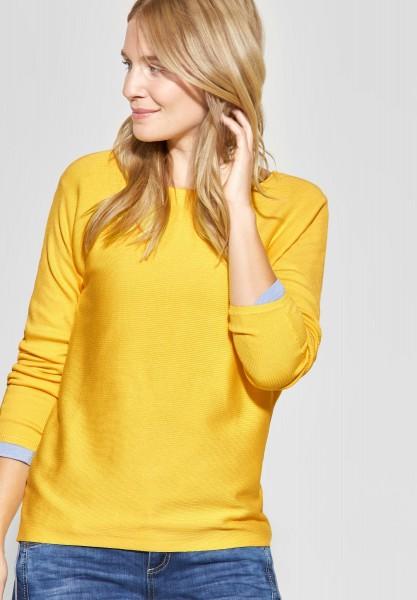 Street One - Basic Pullover Blanka in Creamy Lemon