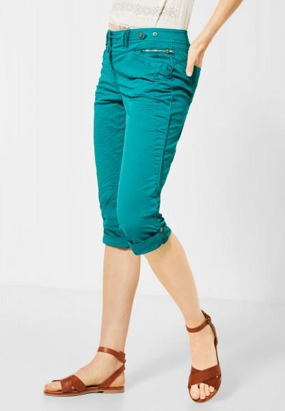 CECIL - 3/4 Hose im Colour-Style in Vital Emerald Green
