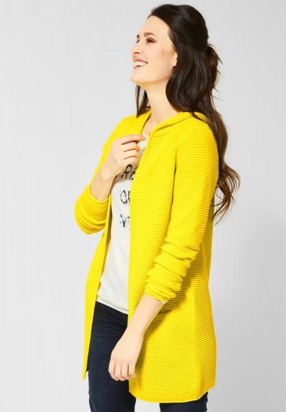 CECIL - Lange Strickjacke Lana in Fresh Yellow