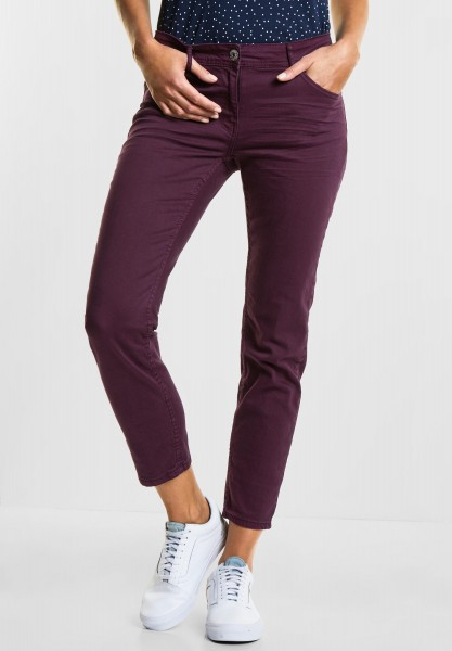 CECIL - Tight Fit Denim Charlize in Deep Berry