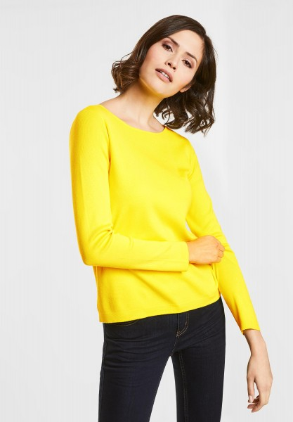 Street One Feiner Strick-Pulli in Canary Yellow