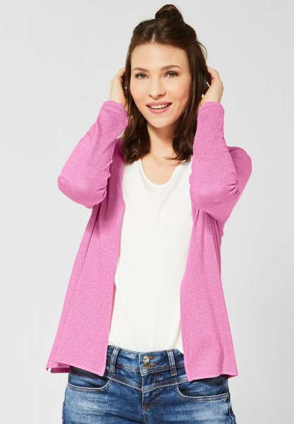 Street One - Strickjacke Henni in Candy Rose Melange