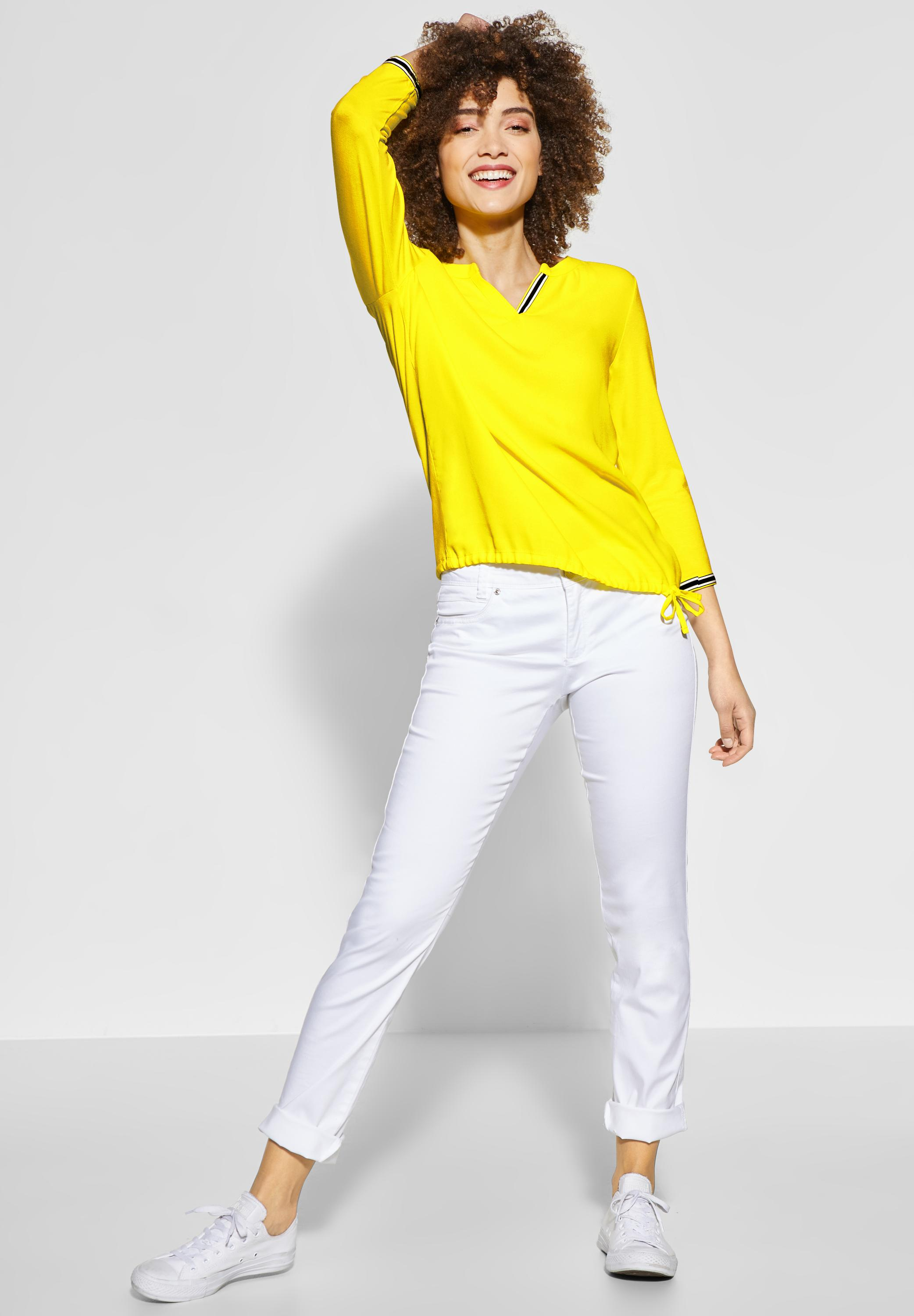 Street One - Feminines Shirt in Sunshine Yellow reduziert ...