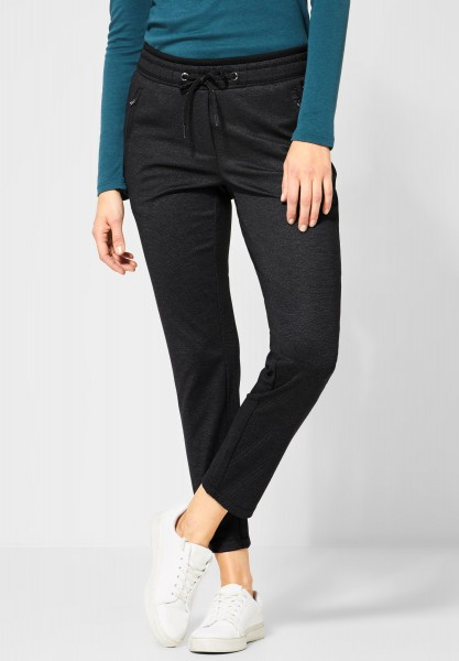 CECIL - Casual Fit Hose Tracey in Black