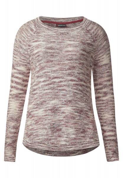 Street One - Melange Pullover Dana in Fuchsia Blush