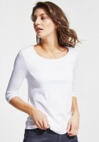 Street One - Basic Shirt Pania in White