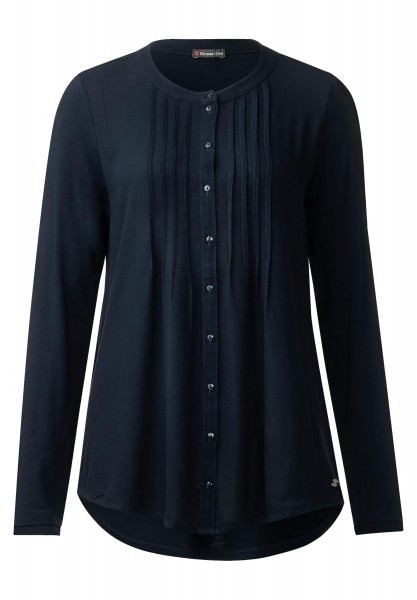Street One - Blusiges Longshirt Laura in Night Blue