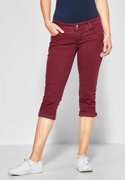 Street One - Softe Denim Crissi in Wine Red Washed