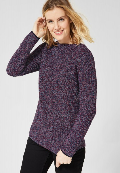 CECIL - Mouliné Pullover in Multi Color Mouline
