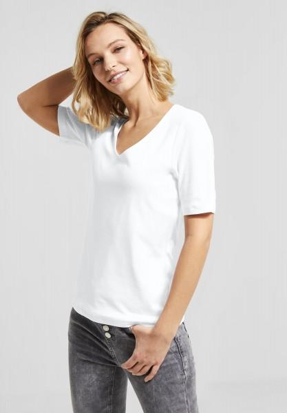 Street One - Basic Shirt Palmira in White