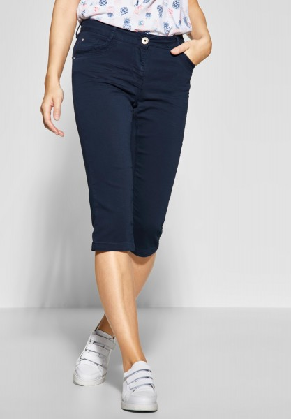 CECIL - Softe 3/4 Hose Victoria in Deep Blue