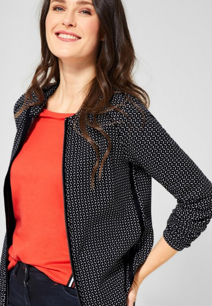 CECIL - Jacke mit Muster in Black