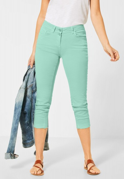 CECIL - Colour-Denim im Slim Fit in Light Molecule Mint Green