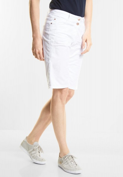 CECIL - Basic Shorts New York in White