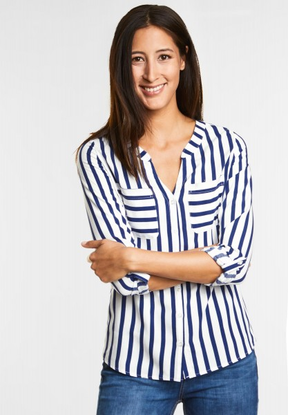 Street One Locker-lässige Bluse Mona in Saphire Blue