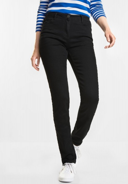 CECIL Schwarze Denim Toronto in Black Denim