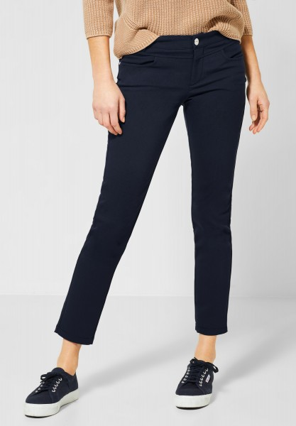Street One - Casual Fit Hose Yulius in Deep Blue