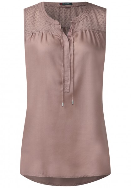 Street One - Material-Mix Bluse Merle