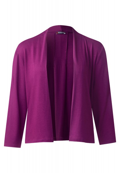 Street One - Offene Shirtjacke Peggy in Sunny Violet
