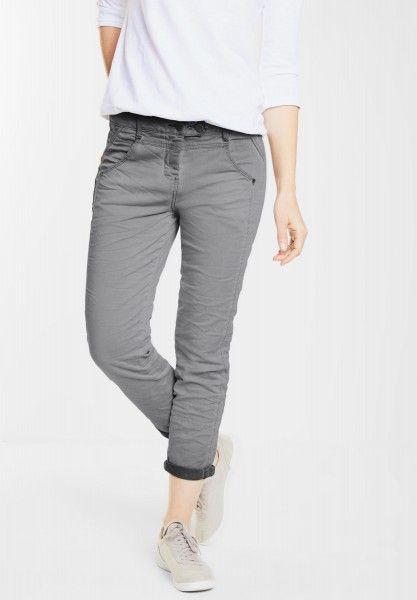CECIL - 7/8-Crinkle Hose New York in Graphit Light Grey