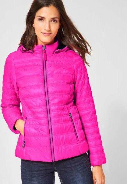 CECIL - Sportliche Stepp-Jacke Neon Active Pink
