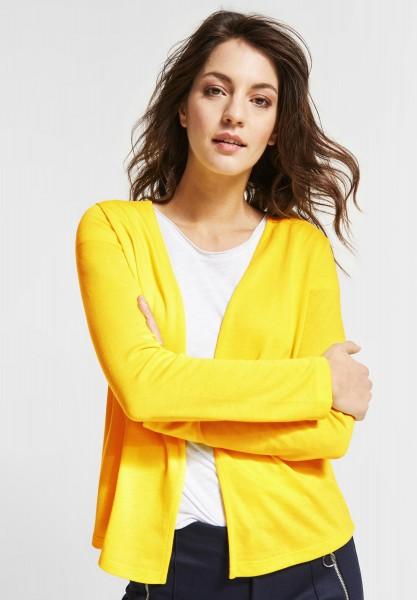 Street One - Softe Strickjacke Nette in Sunshine Yellow