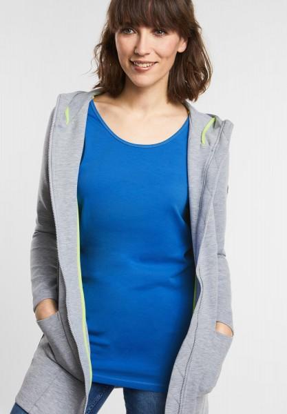 CECIL - Stretchiges Basic Shirt in Cornflower Blue
