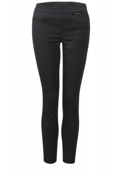 Street One - Slim Fit Leggins in Black