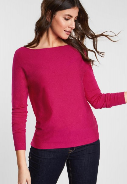 Street One - Basic Pullover Noreen in Azalea Pink