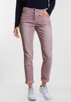 CECIL - Weiche Cordhose Hailey in Dusty Rose