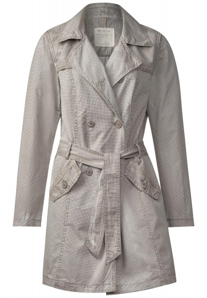 Street One - Trenchcoat Lieselotte in Light Pearl Sand