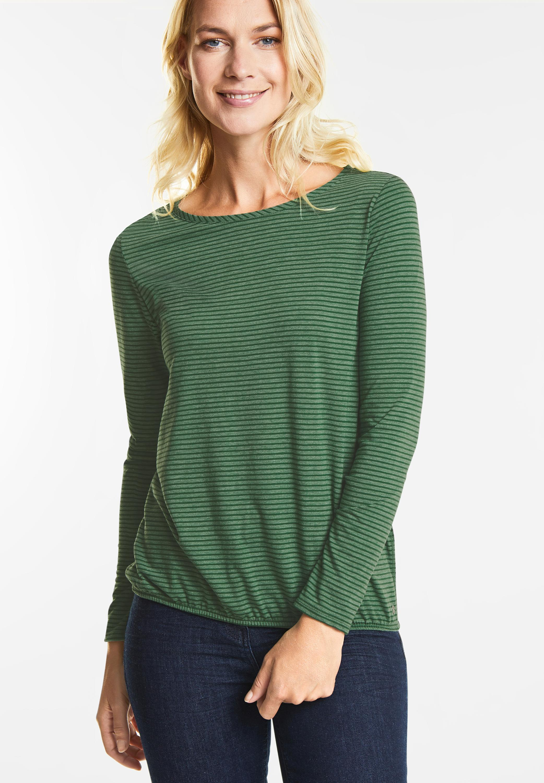 1a57ee4eb52539 Shirt Malena in Fresh Meadow Green von Cecil online kaufen