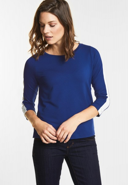 Street One Softes Shirt in Saphire Blue