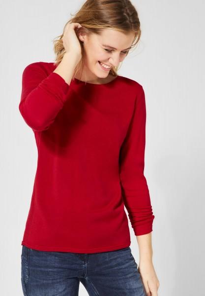 CECIL - Softer Pullover Alena in Tomato Red