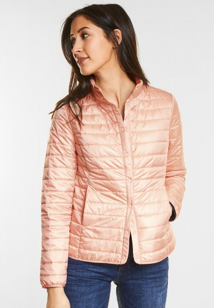 Street One - Leichte Steppjacke in Cosy Rose