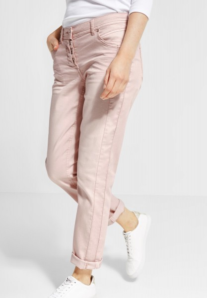 CECIL - Casual Fit Hose Hailey in Rosy Apricot