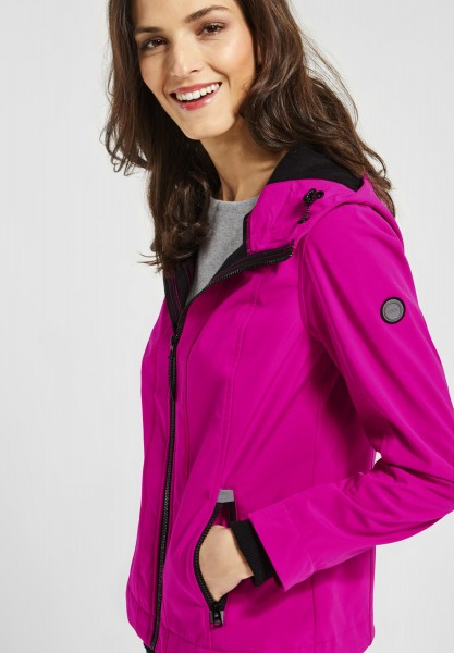 CECIL - Softshell Jacke in Electric Pink