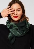 Street One - Schal mit dezenten Fransen in Woods Green