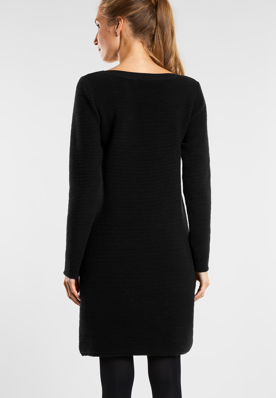 Sportliches Struktur-Kleid in Black von CECIL online kaufen