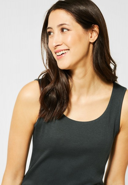 Street One - Basic Top in Comfort Green