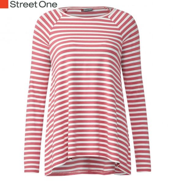Street One - Oversize-Streifenshirt Vilia