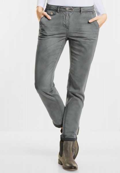 CECIL Softe Hose New York in Graphit Light Grey